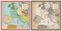 Carta Bella 12x12 Cartography No. 1 Europe