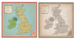 Carta Bella 12x12 Cartography No. 1 Great Britain