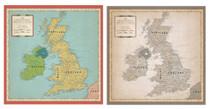 Carta Bella 12x12 Cartography No. 1 Great Britain