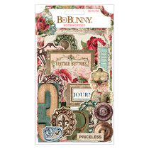 BoBunny Family Heirloom Die-Cuts (pack of 59)