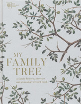 My Family Tree: A Family History, Ancestry and Genealogy Record Book