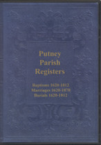 Surrey Parish Registers: Putney 1620-1870