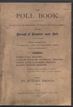 Yorkshire Poll Book: Borough of Kingston-upon-Hull 1868