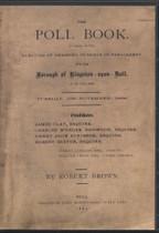 Yorkshire Poll Book: Borough of Kingston-upon-Hull 1868
