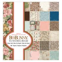 BoBunny 12x12 Heirloom Paper Pad