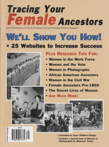 Tracing Your Ancestors Magazine: Tracing Your Female Ancestors