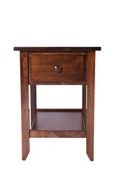 Shaker-Style One Drawer End table