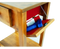 bedside table with secret compartments