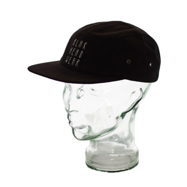 BLAK Apparel Five 0 Hat Black