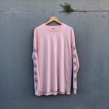 The Mountain Garage OG Long Sleeve Pale Pink