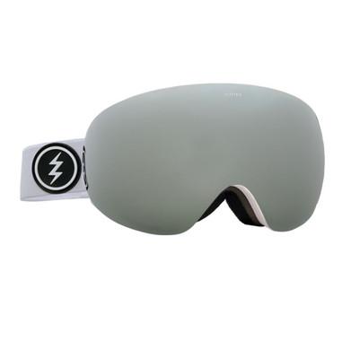 Electric EG3.5 Goggles White Brose Silver Chrome
