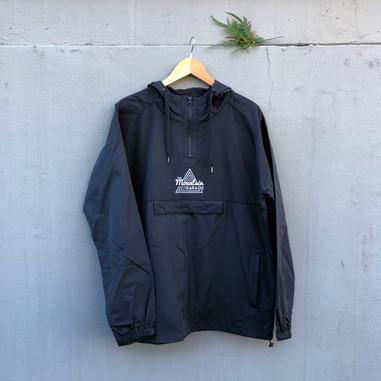 The Mountain Garage Windbreaker Black