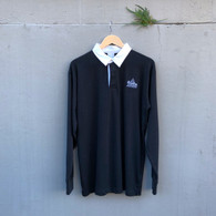 The Mountain Garage Collared Shirt Black
