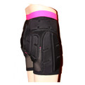Freestyle Snowboard Impact Shorts Womens - Back