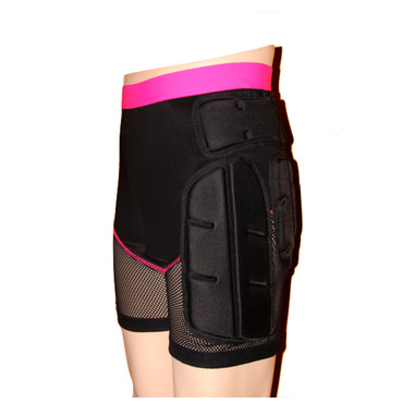 Freestyle Snowboard Impact Shorts Womens - Front