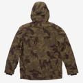 Holden Hooded Deck Jacket Camo - Back