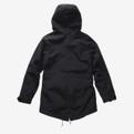 Holden Fishtail Jacket Black - Rear