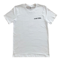 Drink Water Cursive T-Shirt White