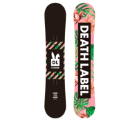 Death Label Flower Snowboard 2019