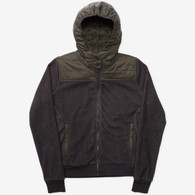 Holden Sherpa Fleece Hybrid Zip Shadow