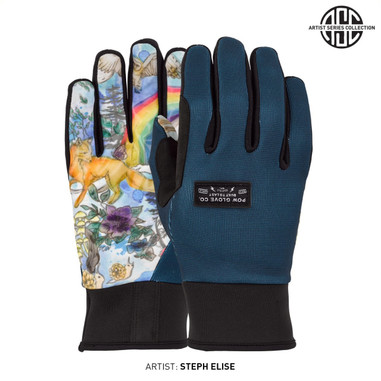 POW All Day Gloves Rainbow