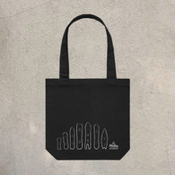 TMG Weird Snowboards Tote Bag