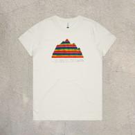TMG Rainbow Mtn Womens Tee