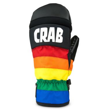 Crab Grab Punch Mitten Rainbow