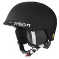 Shred Half Brain Helmet Black
