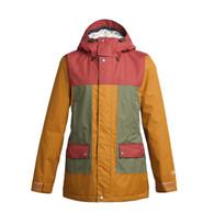 Airblaster Heartbreaker Jacket Grizzly Oxblood