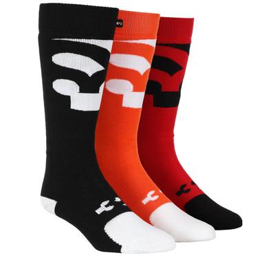 32 Mens Cutout Sock Multi 3 Pack