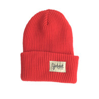 Yobeat Knit Cap Beanie Red