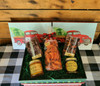 Holiday Box: Now why Cant I get something like this for the holidays?   I love these apricots.  The chocolate dipped are one box of puddles and another of the chocolate dipped apricots.  Then there's two baby jams to enjoy.   Net weight 3.5 lbs.  Ships flat rate for $15