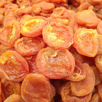 Dried Blenheim Apricots - Extra Fancy   14 oz gift bag