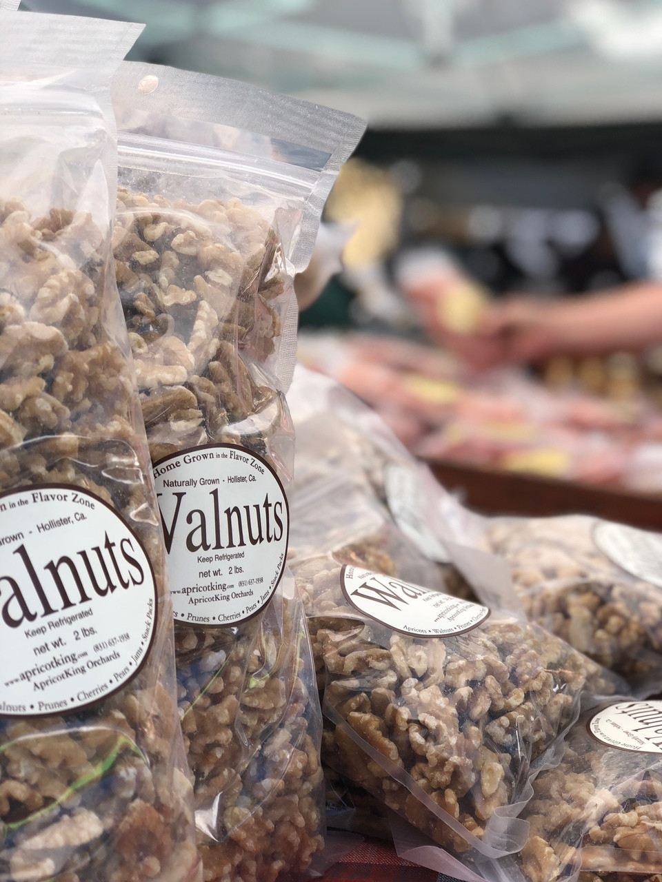 Walnuts Just Delicious--Naturally Grown Walnuts