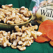 2018   Walnuts    (8 lbs. Bulk)  Naturally Grown