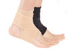 This support helps to alleviate pain caused through sprains or strains to the ankle region, and aid in the recovery by applying compression and supporting the whole ankle region.