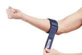 Blue Tennis Elbow Strap