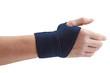 Blue Wrist Support
