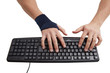 Wrist Support for Reducing Pain during Keyboard Work