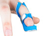 This splint has a mouldable foam design to ensure it can be individually shaped to provide enhanced support and comfort whilst the finger naturally heals