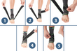 How to use a ankle support