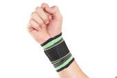 Wrist strapThe Actesso Green Sports Wrist Support gives support and helps alleviate pain caused by joint, muscle and tendon overuse and strain, often caused by repetitive movements from activities such as typing or sports. Ideal for Wrist Sprains, and tendinitis. This Wrist Wrap is ideal for those who are looking for an adjustable, easy to use wrist support. The simple design means it can be used by almost anyone, and is ideal for a range of injuries and conditions such wrist sprains and strains and over-use injuries such as tendinitis.