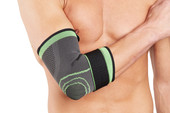 Green Tennis Elbow Support with Strap