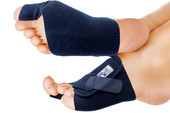 Blue Toe Bunion Support
