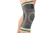New Range! The Green Knee Sleeve Support - comfortable elastic compression for pain relief during exercise, sport or post injury rehab. It provides the ideal amount of compression for injured knees or weak muscles whilst protecting the knee joint, helping you carry on with normal activities with less pain. See more information below...