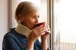 Neck brace for older people
