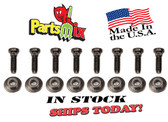 Dodge Plymouth Chrysler All A B C E Body 64 65 66 67 68 69 70 71 72 73 74 Front Leaf Spring Stud Nut Hanger Kit