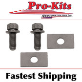 Cuda Coronet Challenger Charger Road Runner Duster Demon Transmission Mount Bolts & Spacers Kit.  Fits 70 71 72 73 74 Cars.