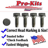 Charger Dart Challenger Cuda Barracuda Coronet Road Runner K Frame Member Bolts.  Service Pack of 4